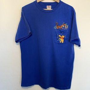 Vintage 90s Disney Winnie the pooh tiger t-shirt